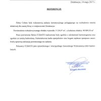 """PRZEDSIĘBIORSTWO PRODUKCJI CHŁODNICZEJ I PRZETWÓRSTWA ROLNO-SPOŻYWCZEGO """"ANITA"""" 10.05.2017"""