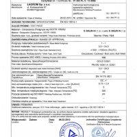 Qualification of welding procedures for metals – 12 mm metal sheet